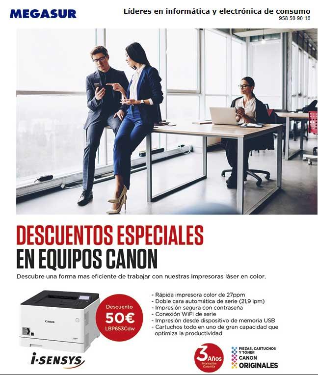 descuentos especiales Canon