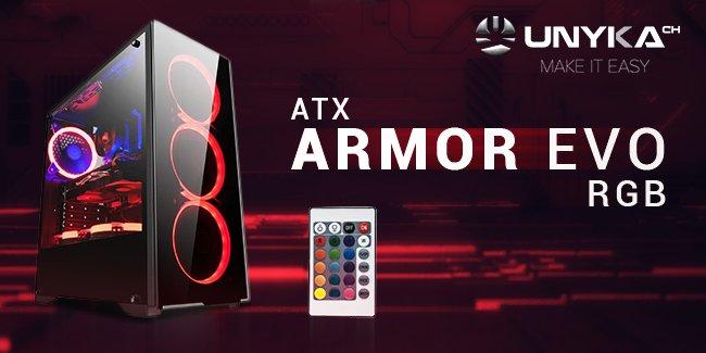 caja gaming armor evo