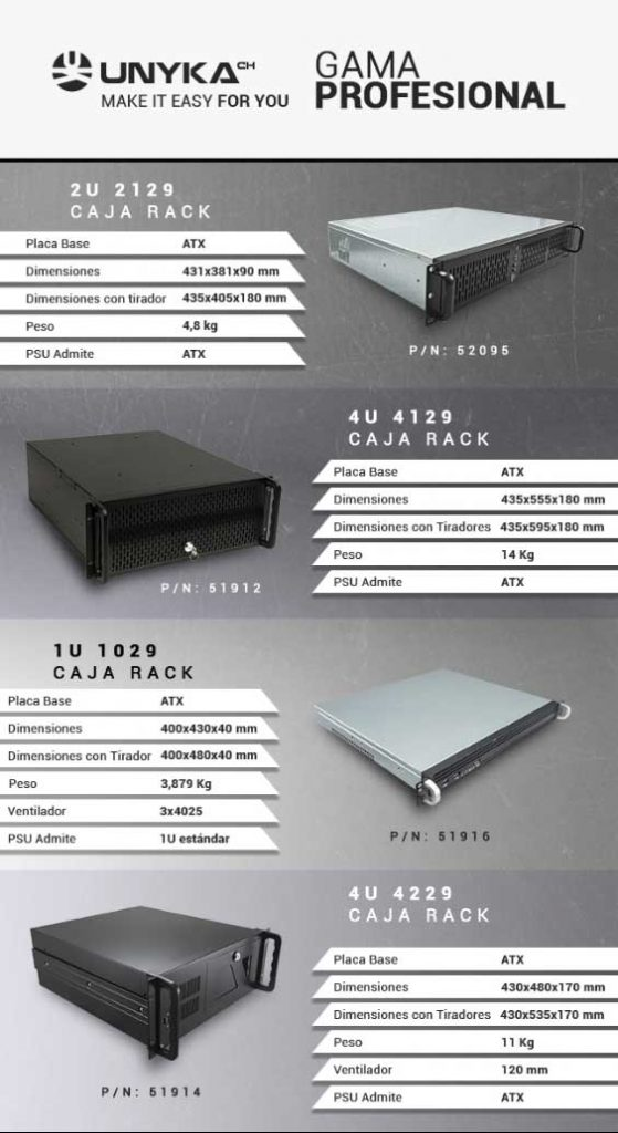 cajas rack economicas