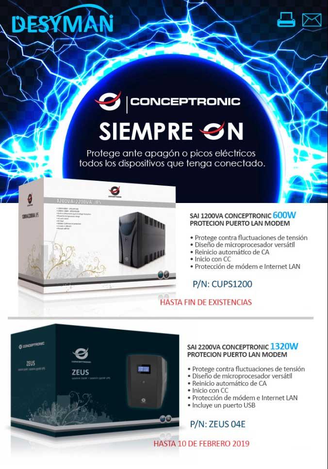 SAIS en oferta Conceptronic