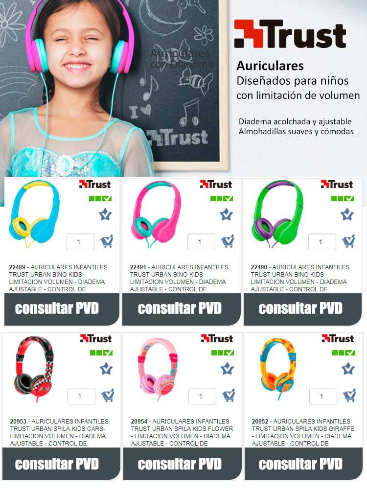 auriculares diseñados para niños