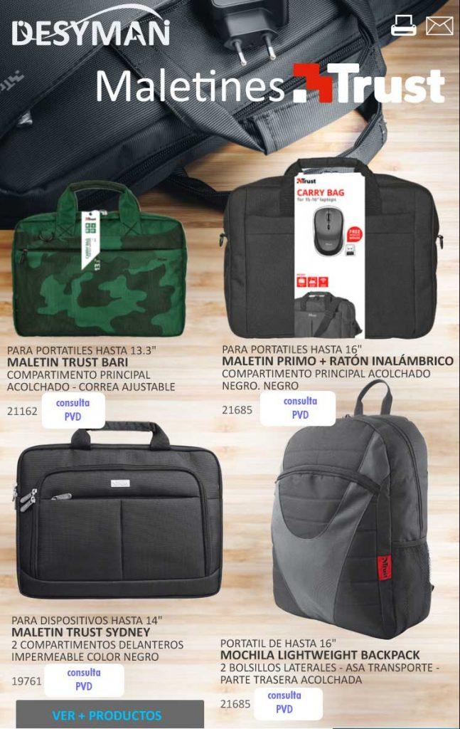 ofertas, novedades, descuentos en mochilas para portatiles