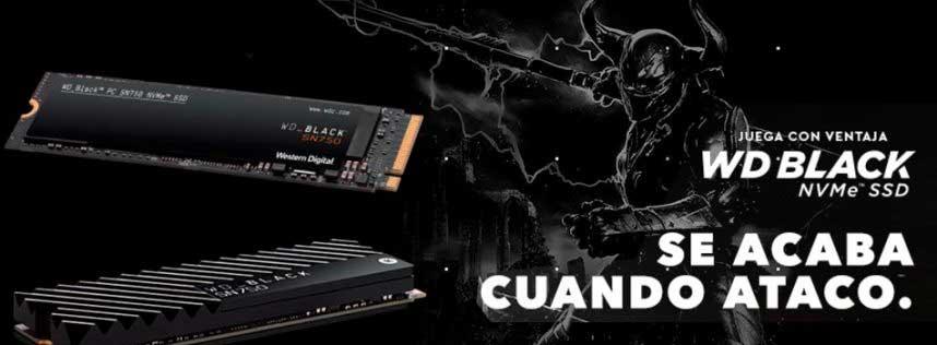 Western Digital presenta el WD SN750 Black NVMe SSD