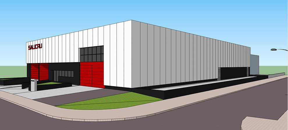 Salicru construye un nuevo almacén logistico