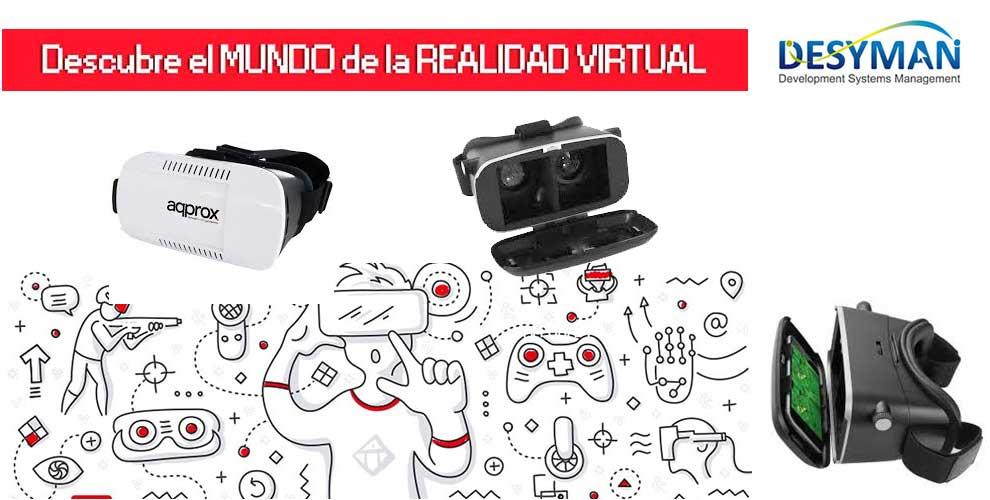 oferta gafas realidad virtual