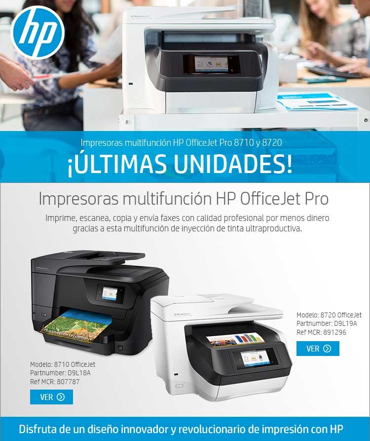 liquidacion impresoras multifuncion hp