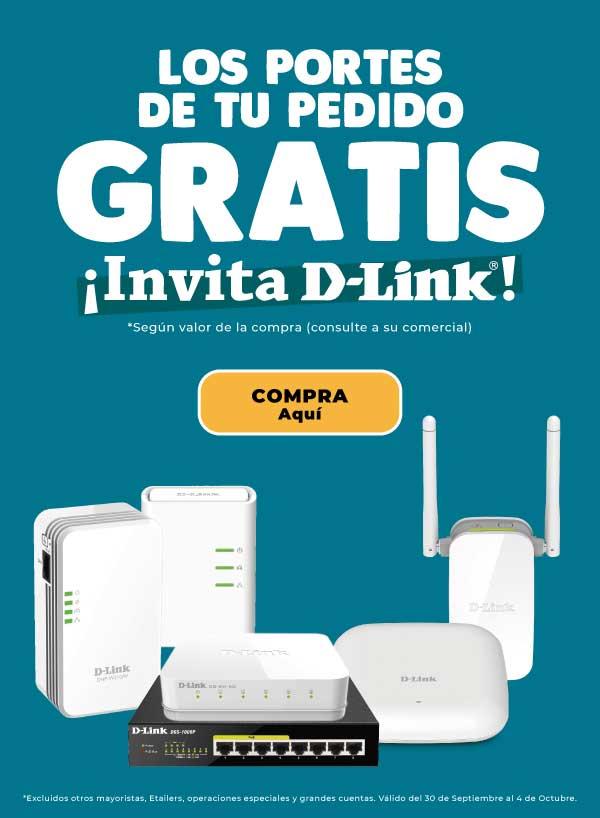 Portes gratis comprando Dlink en Infowork