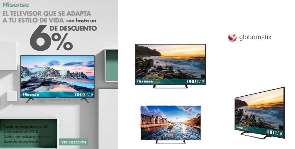 televisores Hisense con descuento
