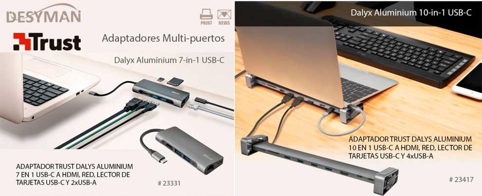 oferta adaptador multipuerto para portatil
