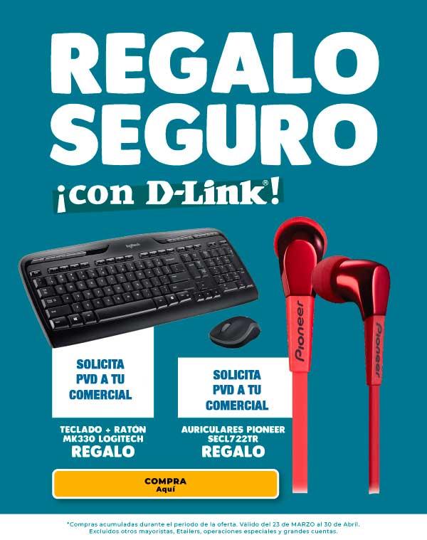 promocion regalo seguro comprando d-link