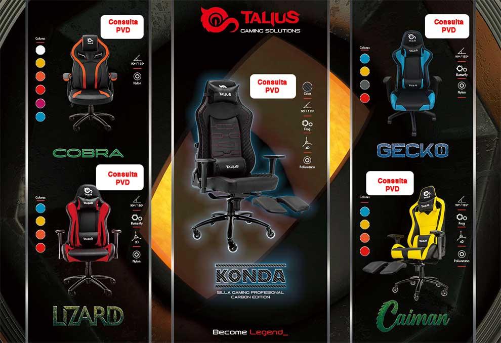 oferta sillas gamer