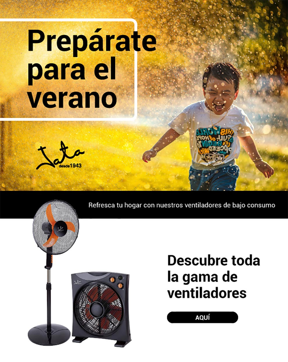 atrapa mosquitos y ventiladores en oferta
