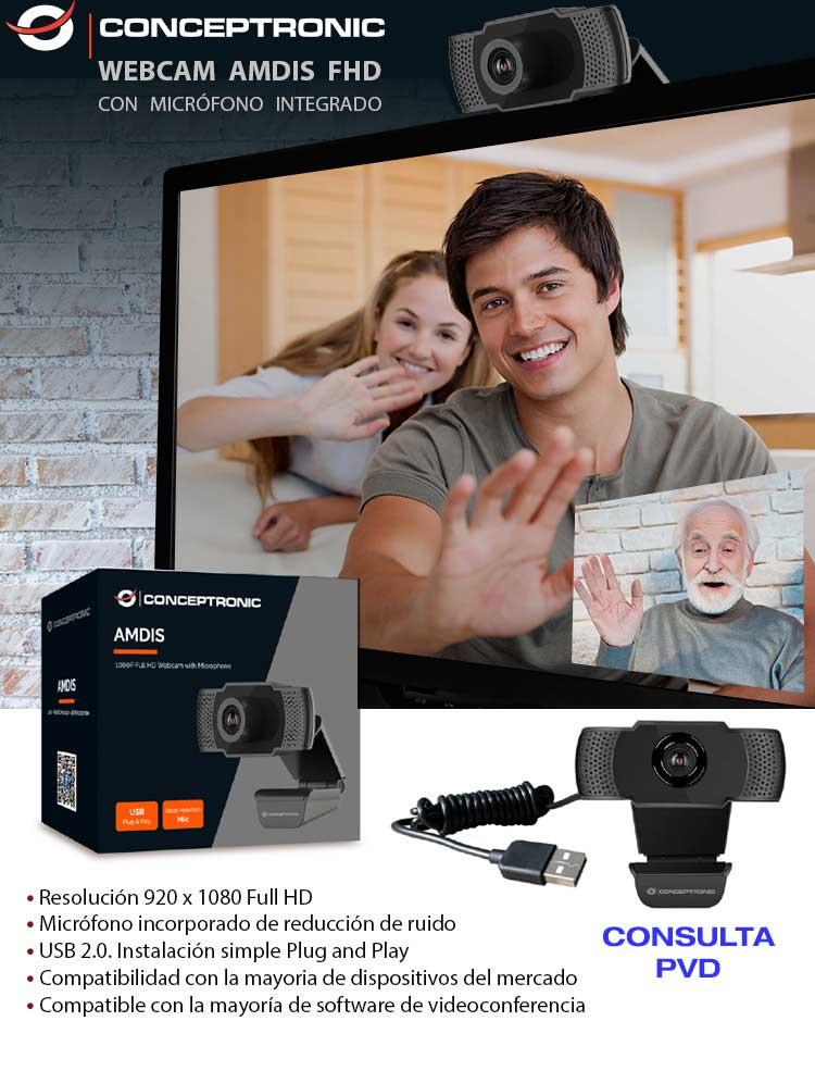 ofertas webcam teletrabajo