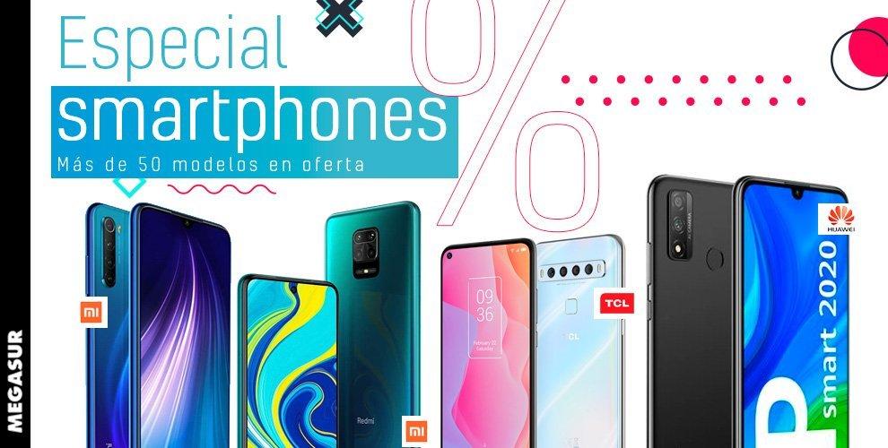 ofertas smartphone en megasur