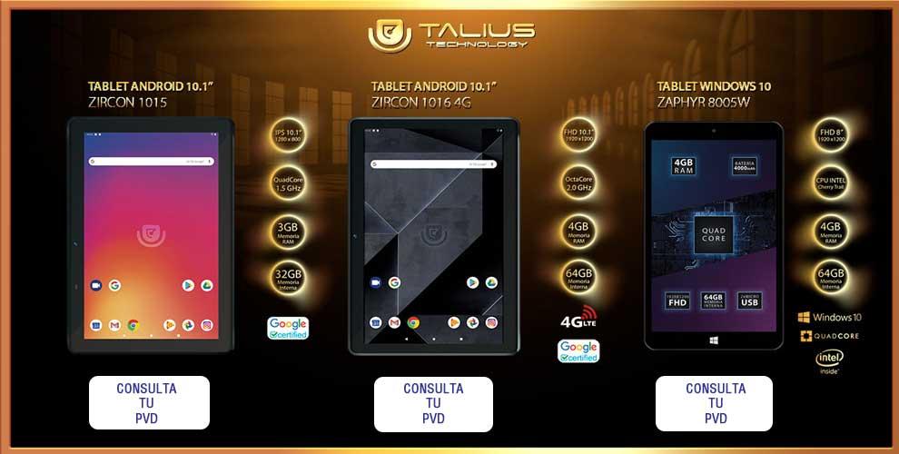 mejor precio mayorista tablets Talius