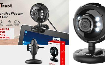 Trust Spotlight Pro webcam con LED