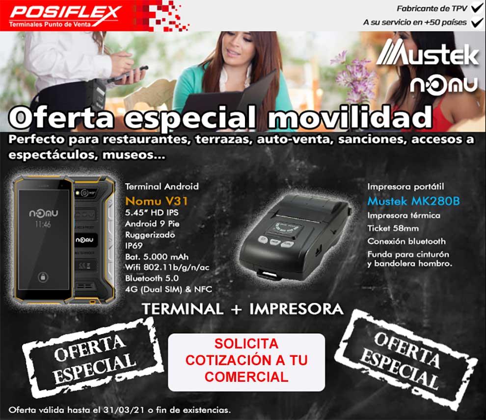 oferta especial movilidad para restaurantes