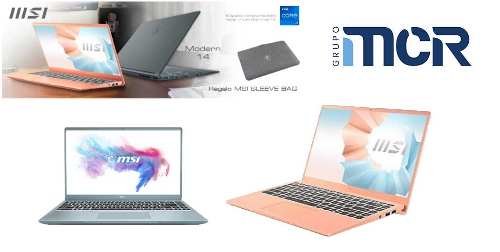 regalo seguro en portátiles MSI