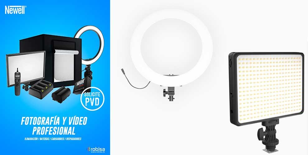 oferta profesional de iluminacion para youtubers
