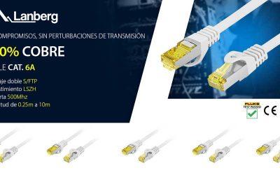 Cables Lanberg CAT6 100% cobre