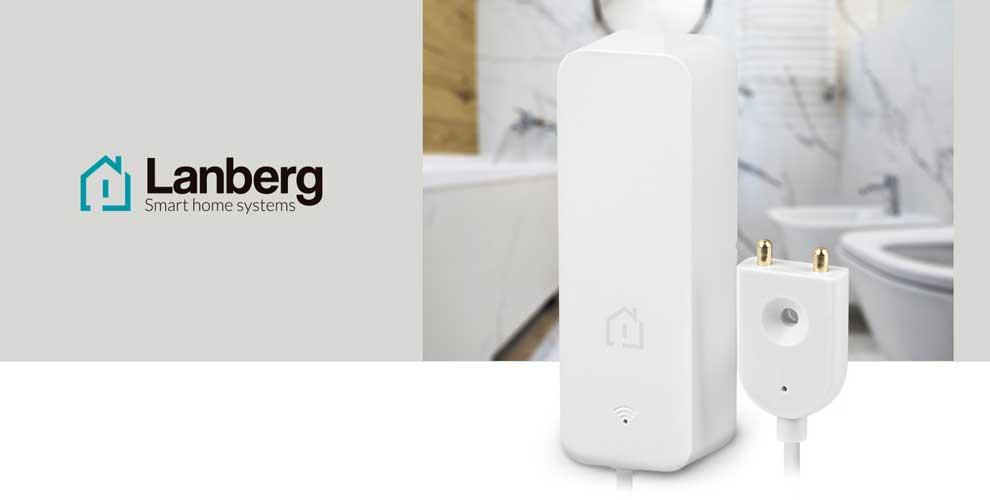 Novedad sensor fugas de agua Lanberg