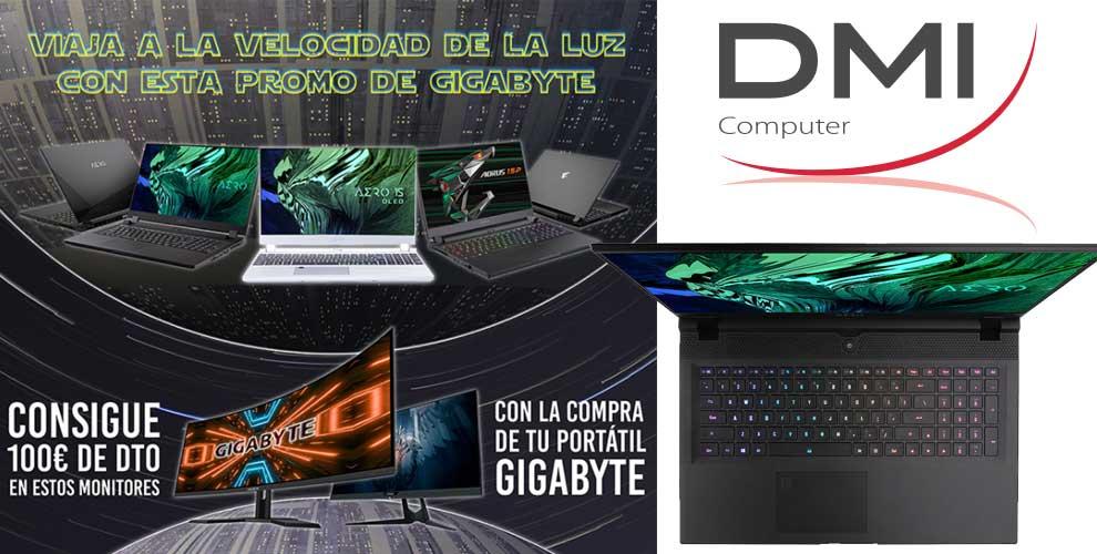 100€ descuento al comprar Gigabyte en DMI