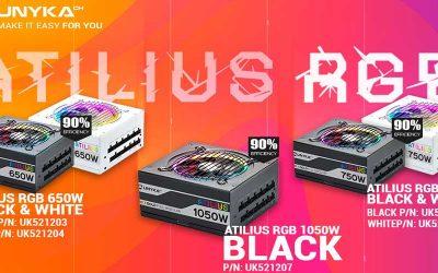 Fuentes de alimentación gaming UNYKAch ATILIUS RGB Full Modular