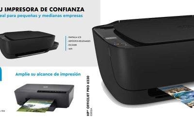 Dos impresoras de tinta hp de oferta en Globomatik
