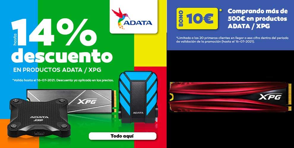 mejor precio en SSD y memoria ADATA