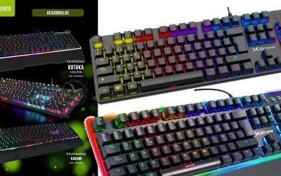 Novedad teclados de Droxio en Infowork