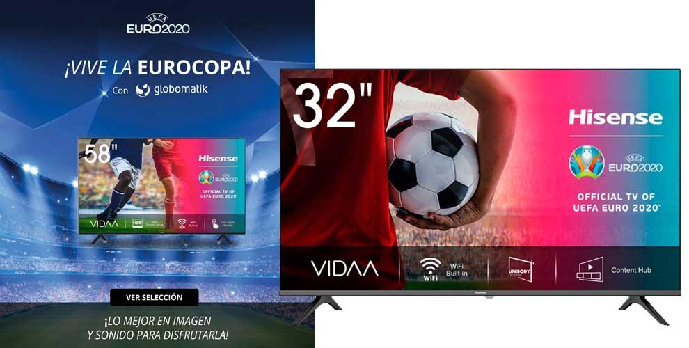 mejores precios televisores eurocopa