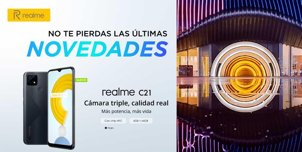 realme c21 precio