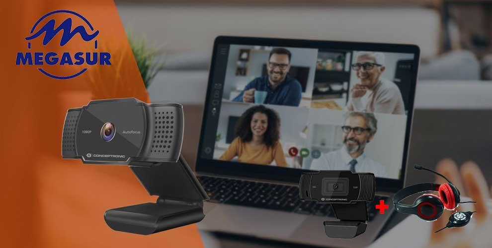 mejor precio kit webcam