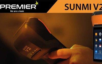 Sunmi V2, la PDA para interiores y exteriores