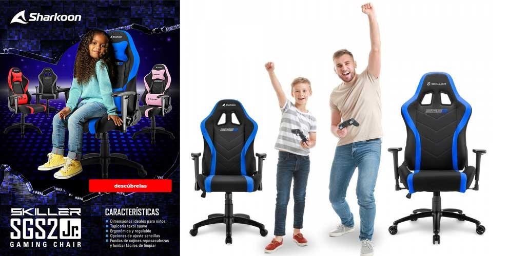 comprar silla gamer para ninos