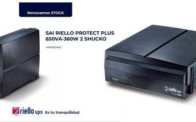 Ofertón sai Riello Protect Plus 650VA
