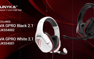 UNYKAch presenta sus nuevos auriculares gaming NOVA GPRO 2.1