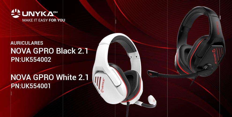 UNYKAch presenta sus nuevos auriculares gaming NOVA