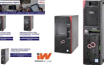 Fujitsu e Infowork doblan la memoria