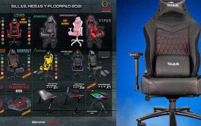 Talius, sillas y mesas gamer superventas